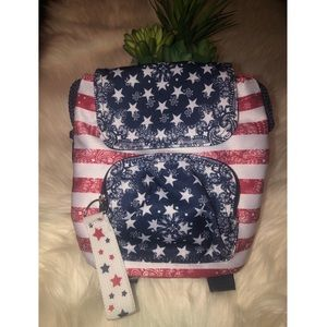 Claire's Mini USA backpack